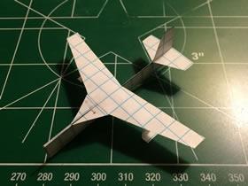 用纸做无人侦察飞机的方法
