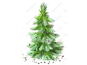 三角插圣诞树的制作方法图解