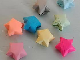 折纸幸运星的详细步骤图解