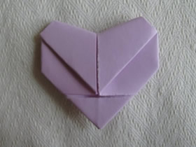 折纸表白爱心的方法图解
