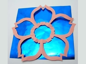 纸樱花的剪法图解