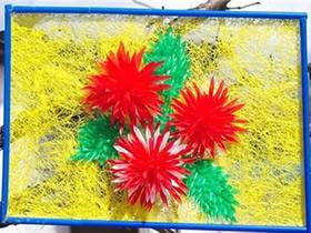 吸管花的制作方法