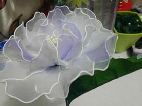 牡丹丝网花制作教程