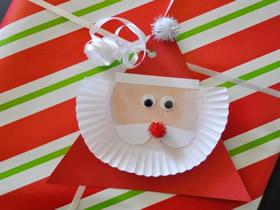 简单手工制作圣诞老人的方法