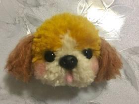 用毛线做毛绒狗玩偶的方法