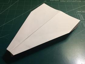 又快又远的飞机折纸图解