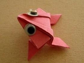 会跳的青蛙折纸图解
