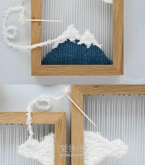 自制漂亮绕线画的方法- www.aizhezhi.com