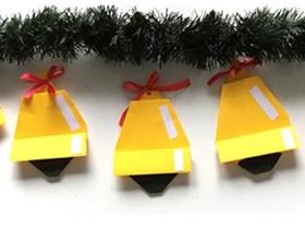 立体圣诞铃铛折纸图解