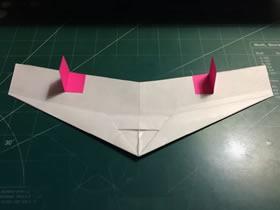 折纸隐形战斗机的方法图解