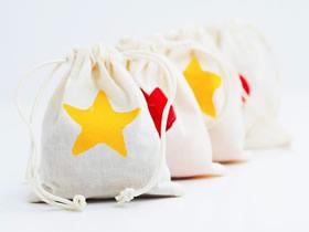 土豆印花制作礼品袋的方法