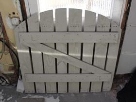 用木板制作花园门的方法