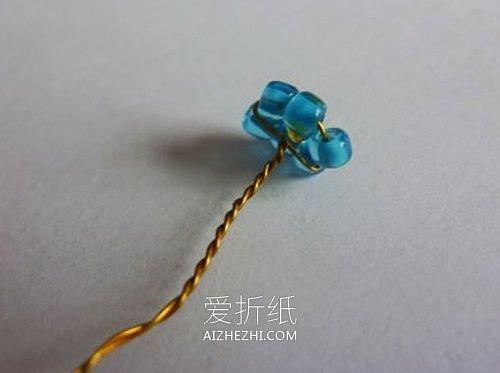串珠盆栽的制作方法图解- www.aizhezhi.com