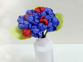 用皱纹纸做含笑花的方法