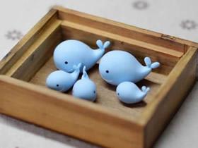 用粘土做鲸鱼的步骤图解