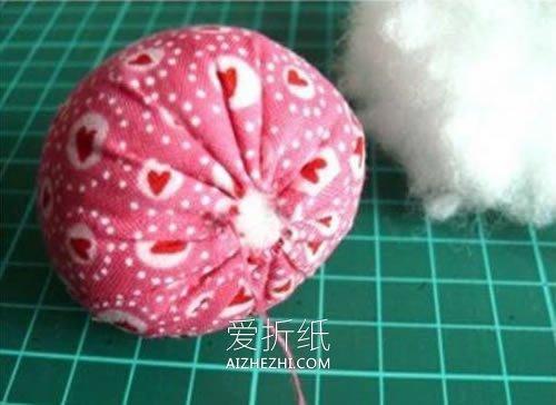 不织布草莓的制作方法- www.aizhezhi.com