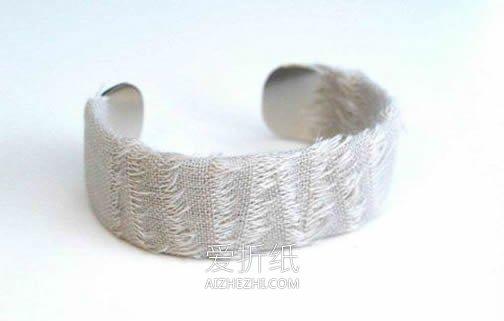 简单的田园风手镯DIY- www.aizhezhi.com