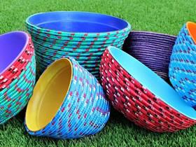 简单绳碗的手工制作方法