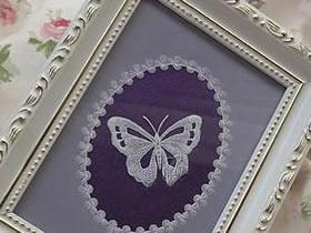 用硫酸纸制作漂亮装饰画的方法