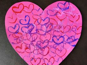 简单做情人节爱心卡片的方法