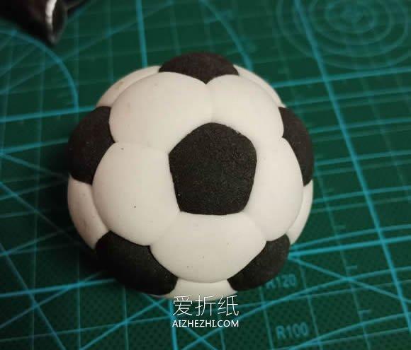 简单粘土足球的制作方法- www.aizhezhi.com