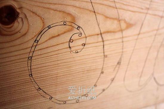 自制LED发光文字床头板的方法- www.aizhezhi.com