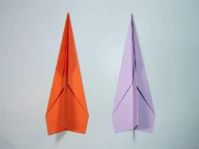 又远又快纸飞机的折纸教程