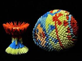 三角插复活节彩蛋的制作方法图解