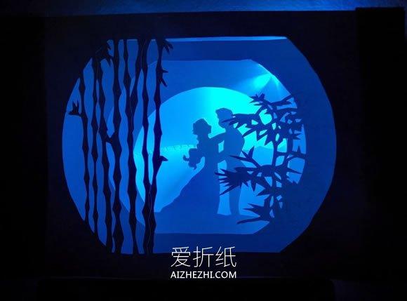 发光隧道书手工制作教程- www.aizhezhi.com
