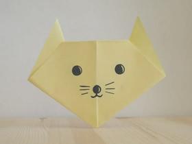 [视频]简单小猫咪的折法