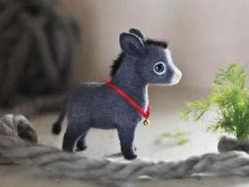 治愈系羊毛毡动物作品欣赏