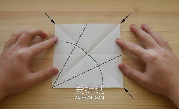 [视频]简单立体钻石的折法- www.aizhezhi.com
