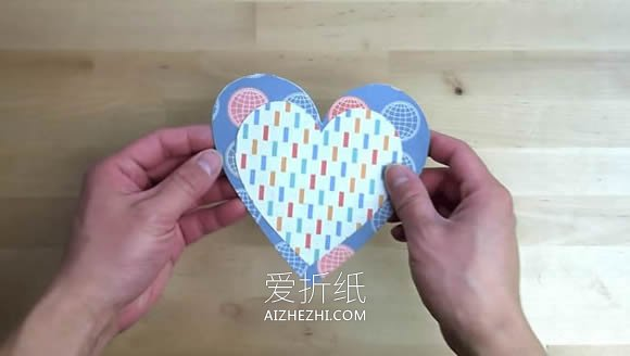 [视频]简单自制爱心问候卡的方法- www.aizhezhi.com