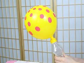 用矿泉水瓶制作气球打气筒的方法