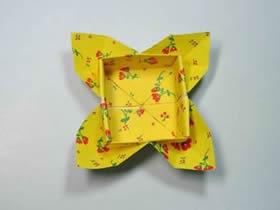 花瓣盒子怎么折图解