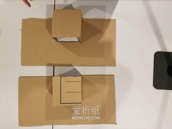 [视频]用硬纸板制作桌上足球桌的方法- www.aizhezhi.com