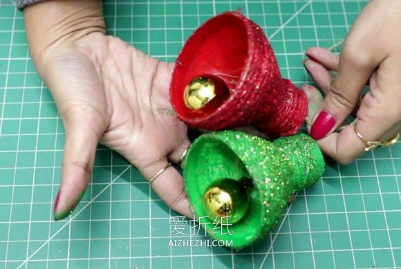 [视频]用可乐瓶制作圣诞铃铛装饰的方法- www.aizhezhi.com