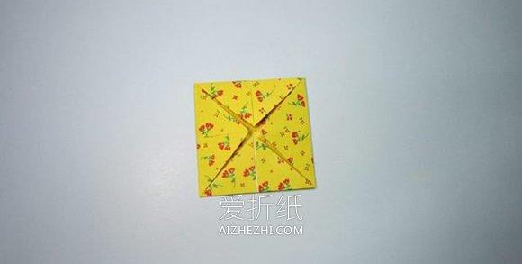 花瓣盒子怎么折图解- www.aizhezhi.com