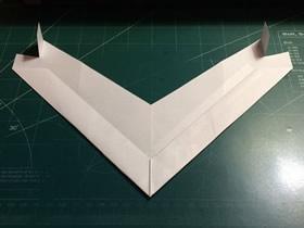 隐形巡逻飞机的折纸方法图解