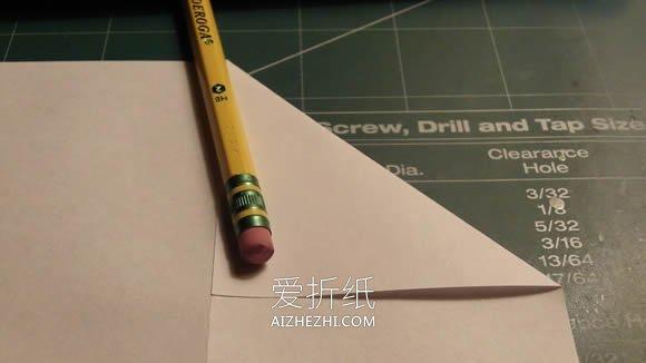 隐形巡逻飞机的折纸方法图解- www.aizhezhi.com