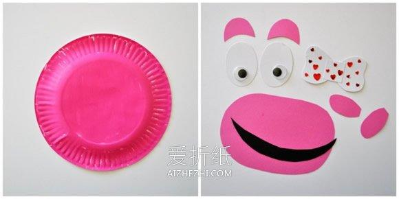 用纸盘做可爱河马的方法- www.aizhezhi.com