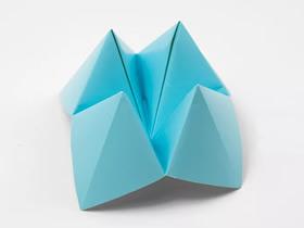 折纸东南西北的教程