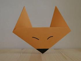 [视频]超简单折纸小狐狸的教程