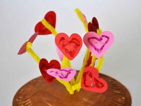 爱情萌芽-创意情人节装饰品的制作方法