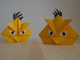 [视频]愤怒的小鸟折纸方法