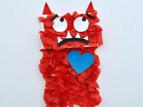 简单爱情怪物的制作方法