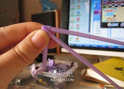 用吸管做玫瑰花的方法图解- www.aizhezhi.com