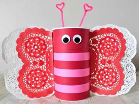 简单情人节蝴蝶装饰品的制作方法