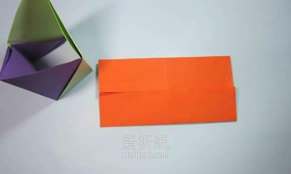 折纸笔筒和长方体包装盒的方法- www.aizhezhi.com