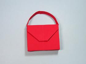 简单手提包的折法图解